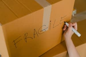 box marker label